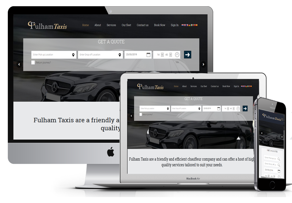 Taxi Booking System 6 – MiniMaxiApps – Taxi/Minicab Websites